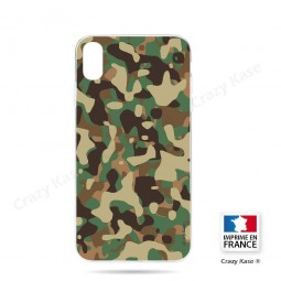 Coque iPhone Xr souple motif Camouflage militaire - Crazy Kase