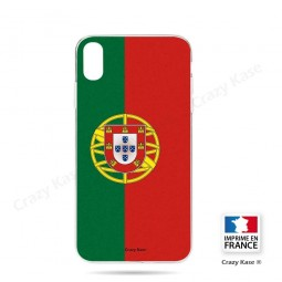 Coque iPhone Xr souple motif Drapeau Portugais - Crazy Kase