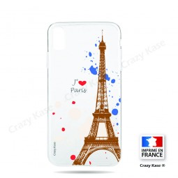 Coque compatible iPhone Xr souple Paris - Crazy Kase