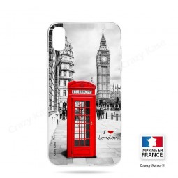 Coque iPhone Xr souple Londres - Crazy Kase